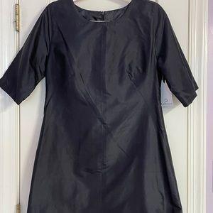 LaRoque scallop hem dress